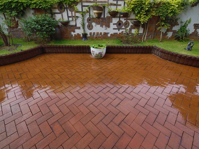 路面砖铺装方法——园林景观施工工艺及质量验收标准